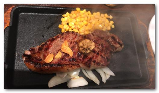 いきなりステーキの北新地店でランチを食べてきた体験記