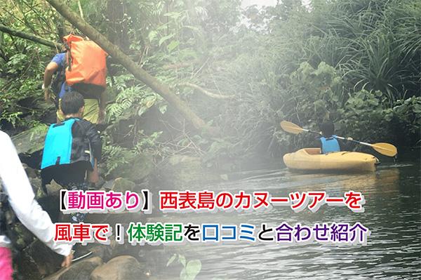 【動画あり】西表島のカヌーツアーを風車で!体験記を口コミと合わせ紹介